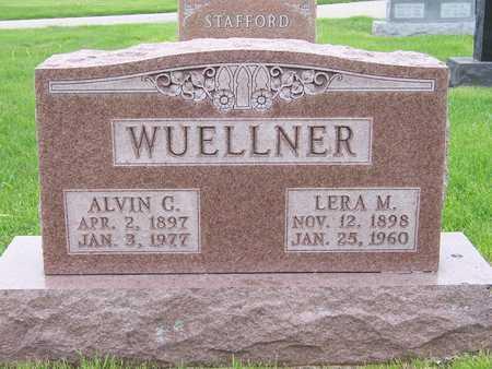 SCHULZE WUELLNER, LERA MARIE - Des Moines County, Iowa | LERA MARIE SCHULZE WUELLNER