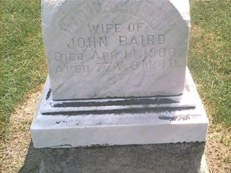 BAIRD, CATHERINE M - Des Moines County, Iowa | CATHERINE M BAIRD
