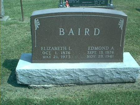 BAIRD, ELIZABETH & EDMOND - Des Moines County, Iowa | ELIZABETH & EDMOND BAIRD