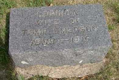 EMERSON, LORINDA - Dickinson County, Iowa | LORINDA EMERSON