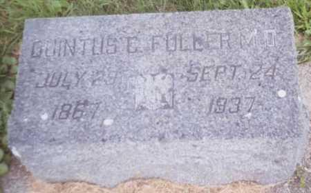 FULLER, QUINTUS C. - Dickinson County, Iowa | QUINTUS C. FULLER