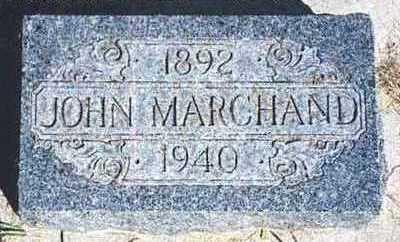MARCHAND, JOHN - Dickinson County, Iowa | JOHN MARCHAND
