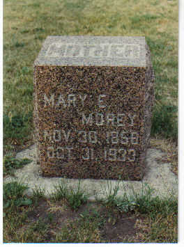 DERR MOREY, MARY ELLA - Dickinson County, Iowa | MARY ELLA DERR MOREY
