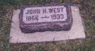 WEST, JOHN HENRY - Dickinson County, Iowa | JOHN HENRY WEST