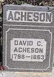 ACHESON, DAVID C. - Dubuque County, Iowa | DAVID C. ACHESON