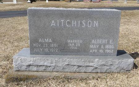 AITCHISON, ALMA - Dubuque County, Iowa | ALMA AITCHISON