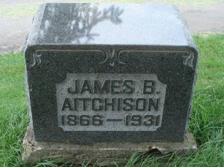 AITCHISON, JAMES B. - Dubuque County, Iowa   JAMES B. AITCHISON