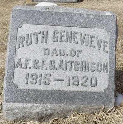 AITCHISON, RUTH GENEVIEVE - Dubuque County, Iowa | RUTH GENEVIEVE AITCHISON