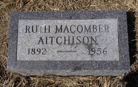 MACOMBER AITCHISON, RUTH - Dubuque County, Iowa | RUTH MACOMBER AITCHISON
