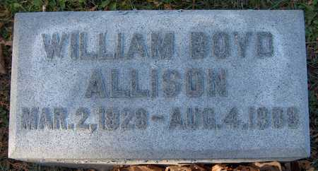 ALLISON, WILLIAM BOYD - Dubuque County, Iowa | WILLIAM BOYD ALLISON