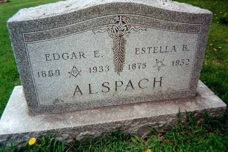 ALSPACH, EDWARD E. - Dubuque County, Iowa | EDWARD E. ALSPACH