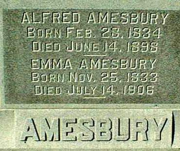 AMESBURY, ALFRED AND EMMA - Dubuque County, Iowa | ALFRED AND EMMA AMESBURY