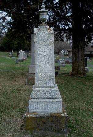 ARMSTRONG, ROY HAROLD - Dubuque County, Iowa | ROY HAROLD ARMSTRONG