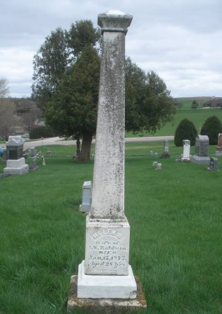 BALDWIN, HELEN  B. - Dubuque County, Iowa | HELEN  B. BALDWIN
