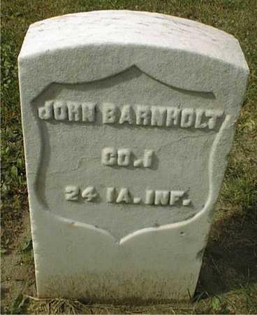 BARNHOLT, JOHN - Dubuque County, Iowa | JOHN BARNHOLT