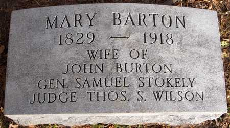 BARTON, MARY - Dubuque County, Iowa | MARY BARTON