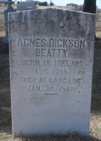 BEATTY, AGNES - Dubuque County, Iowa   AGNES BEATTY
