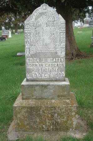 BEATTY, EDITH J. - Dubuque County, Iowa | EDITH J. BEATTY