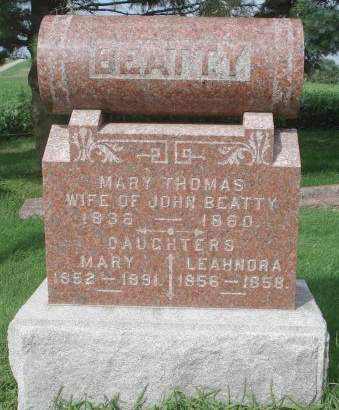 BEATTY, MARY - Dubuque County, Iowa | MARY BEATTY