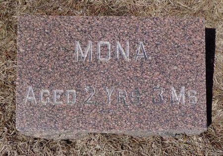 BEAUMONT, MONA - Dubuque County, Iowa   MONA BEAUMONT