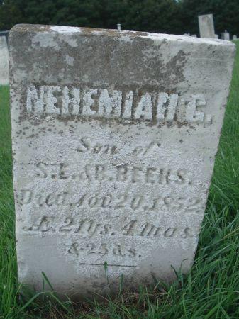 BEEKS, NEHEMIAH G. - Dubuque County, Iowa | NEHEMIAH G. BEEKS