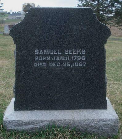 BEEKS, SAMUEL - Dubuque County, Iowa | SAMUEL BEEKS