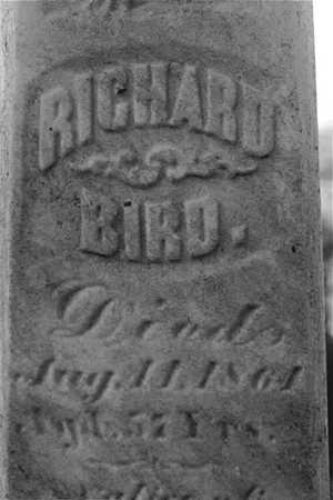 BIRD, RICHARD - Dubuque County, Iowa | RICHARD BIRD