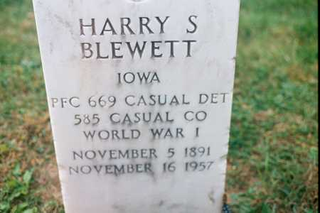 BLEWETT, HARRY S. - Dubuque County, Iowa | HARRY S. BLEWETT