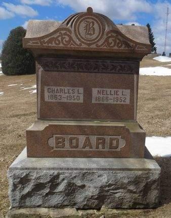 BOARD, NELLIE L. - Dubuque County, Iowa   NELLIE L. BOARD