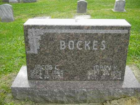BOCKES, MARY K. - Dubuque County, Iowa | MARY K. BOCKES