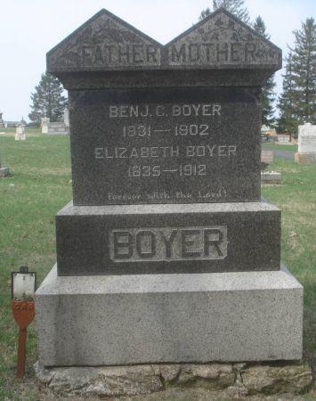 BOYER, BENJAMIN C. - Dubuque County, Iowa   BENJAMIN C. BOYER