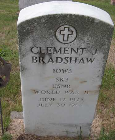 BRADSHAW, CLEMENT J. - Dubuque County, Iowa | CLEMENT J. BRADSHAW