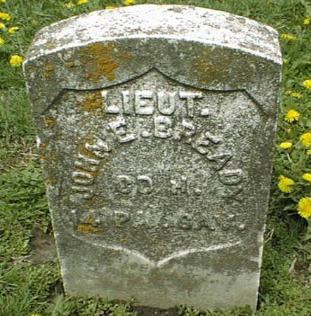 BREADY, JOHN E. - Dubuque County, Iowa | JOHN E. BREADY