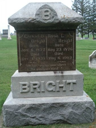 BRIGHT, ROSA L. - Dubuque County, Iowa | ROSA L. BRIGHT