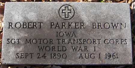 BROWN, ROBERT PARKER - Dubuque County, Iowa | ROBERT PARKER BROWN