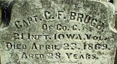 BRUGH, C. F. - Dubuque County, Iowa | C. F. BRUGH