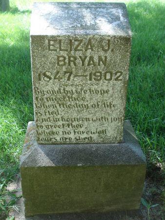 BRYAN, ELIZA J. - Dubuque County, Iowa   ELIZA J. BRYAN