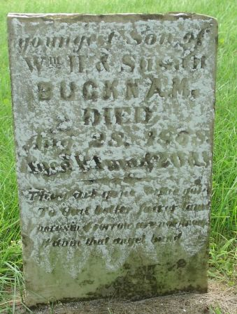 BUCKNAM, NATHANIEL - Dubuque County, Iowa | NATHANIEL BUCKNAM
