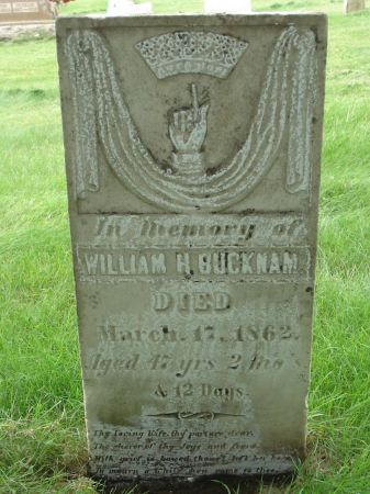 BUCKNAM, WILLIAM H. - Dubuque County, Iowa | WILLIAM H. BUCKNAM