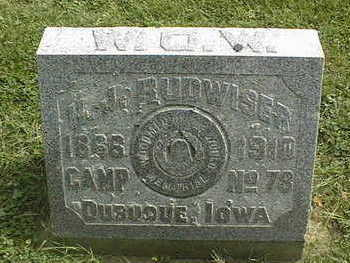 BUDWISER, H. J. - Dubuque County, Iowa | H. J. BUDWISER