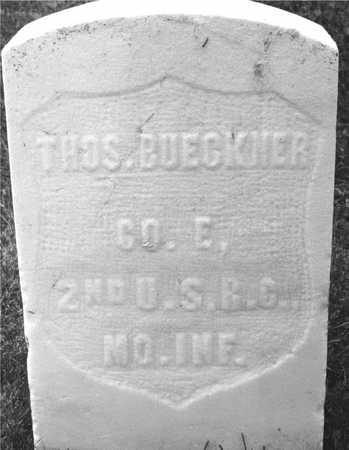 BUECKNER, THOMAS - Dubuque County, Iowa | THOMAS BUECKNER