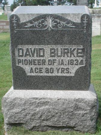 BURKE, DAVID - Dubuque County, Iowa | DAVID BURKE
