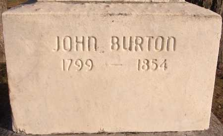 BURTON, JOHN - Dubuque County, Iowa | JOHN BURTON