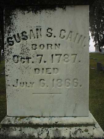 CAIN, SUSAN S. - Dubuque County, Iowa | SUSAN S. CAIN