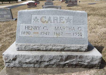 CARE, MARTHA G. - Dubuque County, Iowa | MARTHA G. CARE