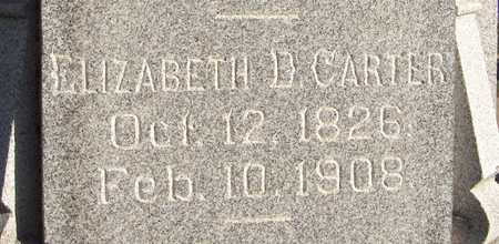 CARTER, ELIZABETH D. - Dubuque County, Iowa | ELIZABETH D. CARTER