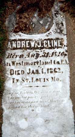 CLINE, ANDREW J. - Dubuque County, Iowa | ANDREW J. CLINE