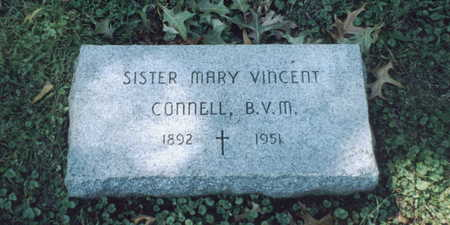 CONNELL, SISTER MARY VINCENT - Dubuque County, Iowa | SISTER MARY VINCENT CONNELL