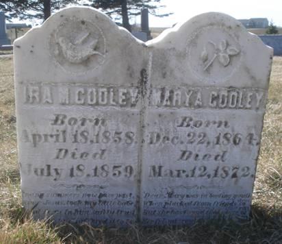 COOLEY, IRA M. - Dubuque County, Iowa | IRA M. COOLEY