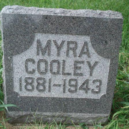COOLEY, MYRA - Dubuque County, Iowa | MYRA COOLEY